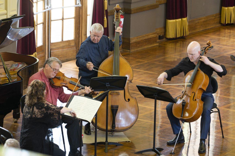 CSO piano quintet perform at Albert Hall